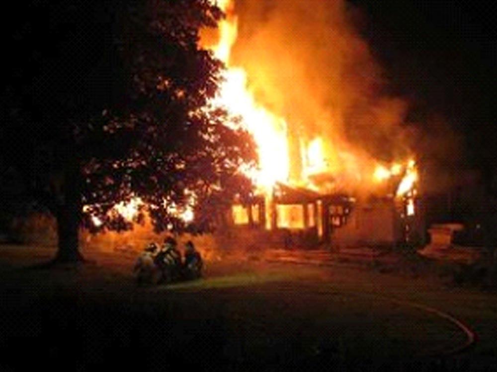 Appliance Fire Hazard