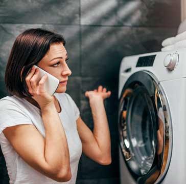 Appliance washing machine repair service